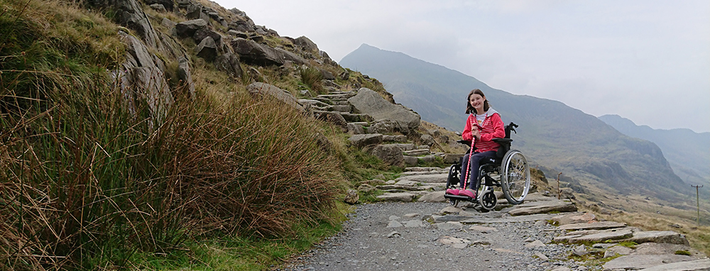 Mountain Wheelchair Banner